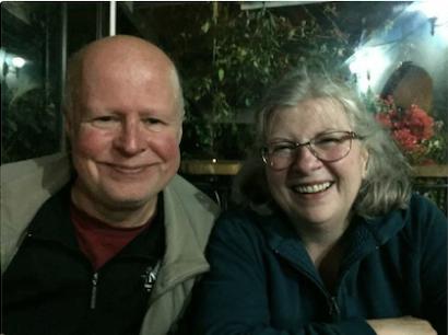 Chuck Gleason and Fran Teaster; photo courtesy of Fran Teaster