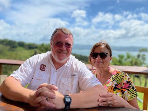 Mark and Sylvia Richardson, photo courtesy of Mark Richardson